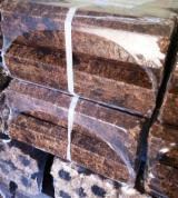 木颗粒-木砖-木炭 木砖 白色灰, 榉木, 桦木