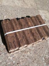 薪炭材-木材剩余物 - 木颗粒-木砖-木炭 木炭 白色灰, 榉木, 橡木