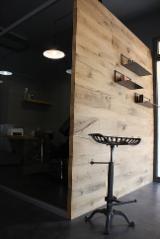 Tranciati E Pannelli Europa - Pannelli per rivestimento in legno antico