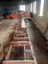 木工机械 - Saw (Horizontal Frame Saw) Wood-Mizer LT70 旧 波兰