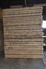 Hardwood  Unedged Timber - Flitches - Boules For Sale - KD Unedged Birch Timber, grade A, 24+ mm thick
