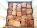 Ghana - Furniture Online market - Doussie Semi Clean Square Logs, 35 x 35+ cm