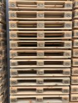 Pallets – Packaging For Sale - New Pine Epal Pallets, 800x1200 mm