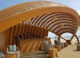 Drewno Iglaste  Drewno Klejone Warstwowo – Elementy Drewniane Łączone Na Mikrowczepy Na Sprzedaż - Sklejki – Belki Profilowane/ Gięte, Sosna Kalifornijska