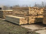 Sawn Softwood Timber  - -- mm Fresh Sawn Spruce  Planks (boards) Romania