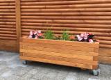 Wholesale Wood Flower Pot - Planter - Oak Flower Pots