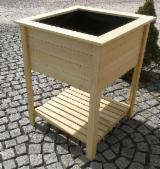 Meubles Et Produits De Jardin Europe - Jardiniere en bois