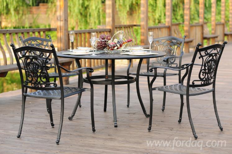 Outdoor-Patio-Furniture-5PCS-Cast-Aluminum-Dining