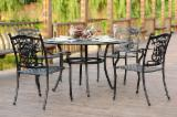 Garden Furniture - Outdoor Patio Furniture 5PCS Cast Aluminum Dining Set