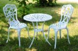 Garden Furniture - All Weather Outdoor Patio Cast Aluminum Garden Furniture Table Chair