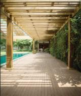 Exterior Decking  Solid Wood - Pine Natural Decking