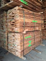 Hardwood  Unedged Timber - Flitches - Boules For Sale - Beech Steamed Unedged, B/C, KD, 26; 32; 40; 45; 52 mm thick