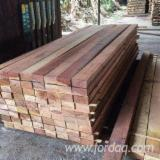 Hardwood  Sawn Timber - Lumber - Planed Timber For Sale - Rubberwood / Bintangor Beams 14 mm