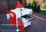 Vierseitenhobelmaschine KUPFERMUHLE 60, 4-Seiten-Werkzeugmaschine, Zusatzspindel