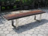 Living Room Furniture - Railway bench