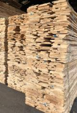 Hardwood  Unedged Timber - Flitches - Boules For Sale - Unedged ABC KD Brown/ White Ash Loose Timber
