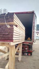 Sawn Softwood Timber  - Fresh Sawn/ KD Spruce Timber, 45-300 mm