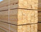 Sawn and Structural Timber - Pine and Spruce Edged Planks, KD, 25-75 mm thickness