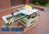 Machines, Quincaillerie et Produits Chimiques - Scie REMA DMMA 35 avec chariot, scie circulaire