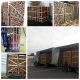 Firewood, Pellets and Residues - KD Birch/ Hornbeam/ Oak Firewood, 25-28; 30-33 cm