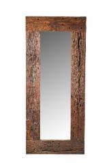 Приемная - Зеркала из винтажного дуба