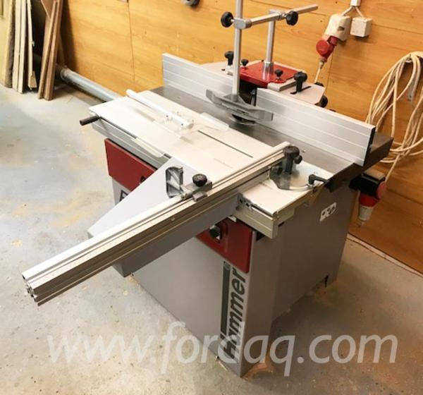 Used HAMMER F3 Moulding Machines For Three- And Four-side