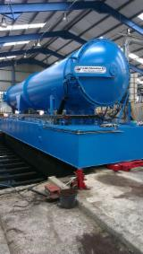 United Kingdom Woodworking Machinery - High And Low Pressure Timber Treatment Plant