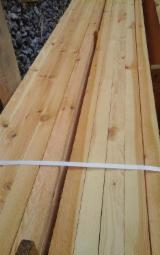 Unedged Softwood Timber - Half-Edged Pine Timber