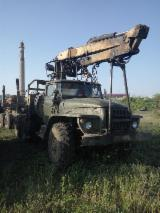 Used Ural Truck With Manipulator