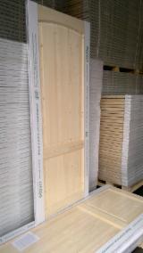 Europejskie Drewno Iglaste, Drzwi, Drewno Lite, Modrzew Syberyjski, Sosna Zwyczajna - Redwood, Świerk - Whitewood