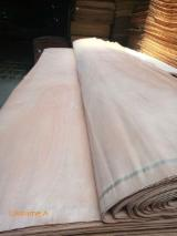 Veneer Supplies Network - Wholesale Hardwood Veneer And Exotic Veneer - Okoume Rotary Cut Veneer, 0.25 mm