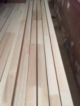 Massivholzplatten Türkei - 1 Schicht Massivholzplatten, Espe, Aspe