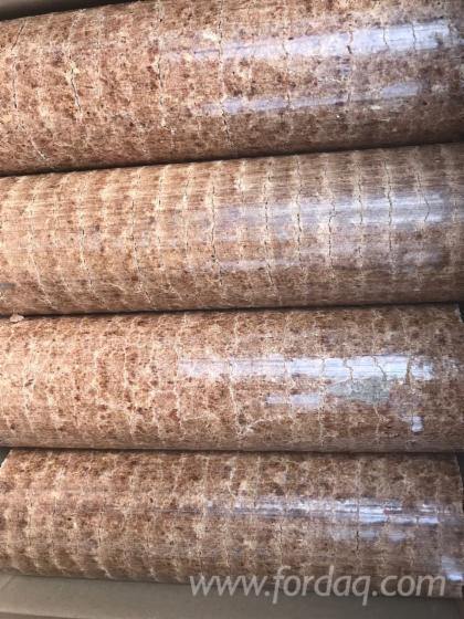 Beech/Oak Wood Briquets, 75 mm