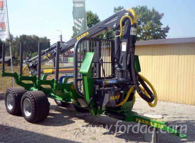Traktor S Prikolicom FARMA T10 G2 Polovna 2015 Poljska Za Prodaju
