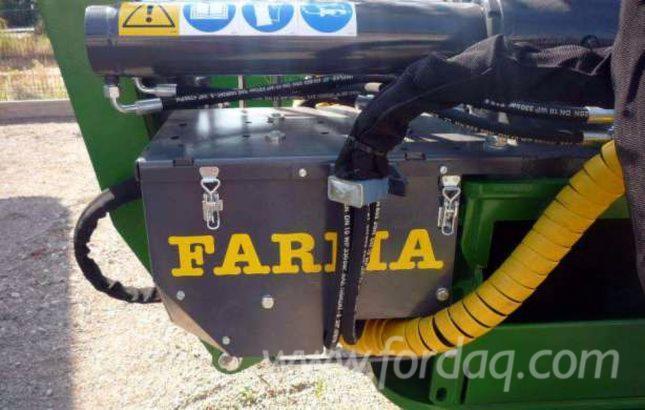 FARMA 2015r, Przyczepa leśna, żuraw, hds