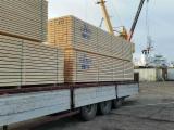 Nadelschnittholz, Besäumtes Holz Sibirische Kiefer - Sibirische Tanne, Sibirische Kiefer, Fichte