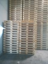 Slovakia Supplies - NEW wooden EUR UIC pallets