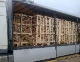 供应 白俄罗斯 - 劈切薪材 – 未劈切 碳材/开裂原木 常见黑色阿尔德木, 白蜡树 , 桦木
