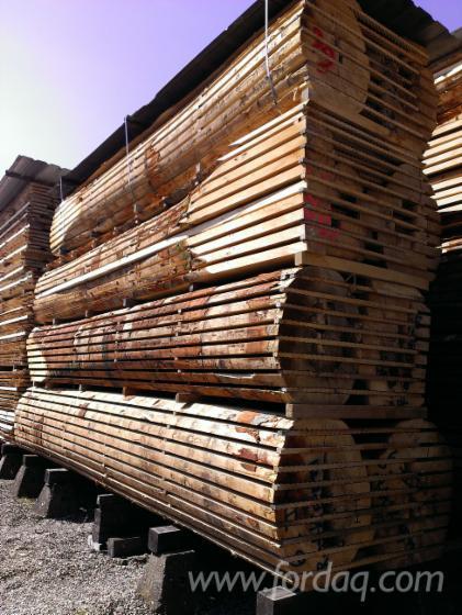 Kernbuchen-Schnittholz ged. oder unged. Stärke: 27 bis 65 mm nach Wunsch