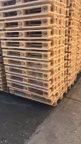 Wood Pallets - New EPAL and UIC pallets