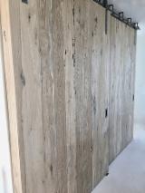 Panneaux de revêtement en bois antique