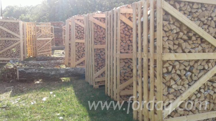 劈切薪材 – 未劈切 碳材/开裂原木 桦木, 鹅耳枥, 橡木