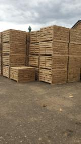Sawn Softwood Timber  - Offer for Planks (boards), Pine - Scots Pine, FSC