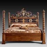 Bedroom Furniture - Selling Walnut Wooden Beds