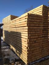 Sawn Softwood Timber  - Rough planks of fir and pine