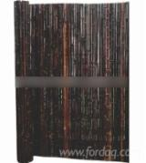 Bamboo Garden Products - Smoked Rolled Bamboo Screen 1805