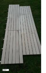 地板及户外板材 - 橡木, 装饰(四面倒角)
