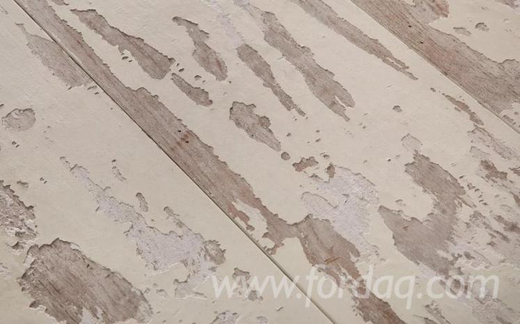 Engineered Wood Flooring White Pu Paint