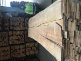 Unedged Hardwood Timber - Unedged beech lumber, KD,unsteamed, B color