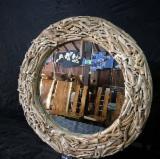 Bedroom Furniture - Beech / Walnut Antique Mirrors